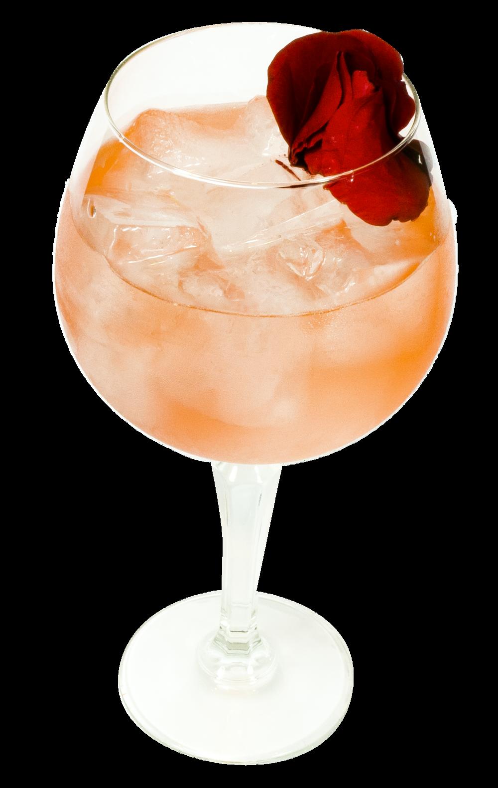 25ml Bath Gin 25ml Damson Bath Gin 12.5ml Escubac 25ml Pamplemousse Liqueur 12.5ml Lemon juice 75ml Rose Lemonade