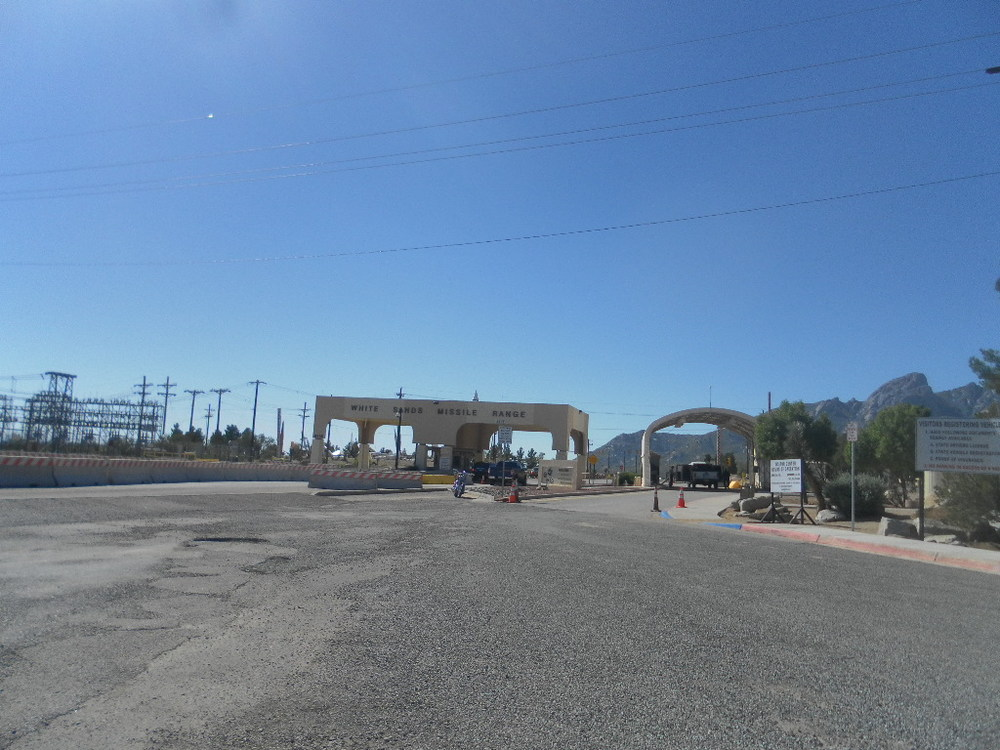 The Gates of the White Sands Missile Range