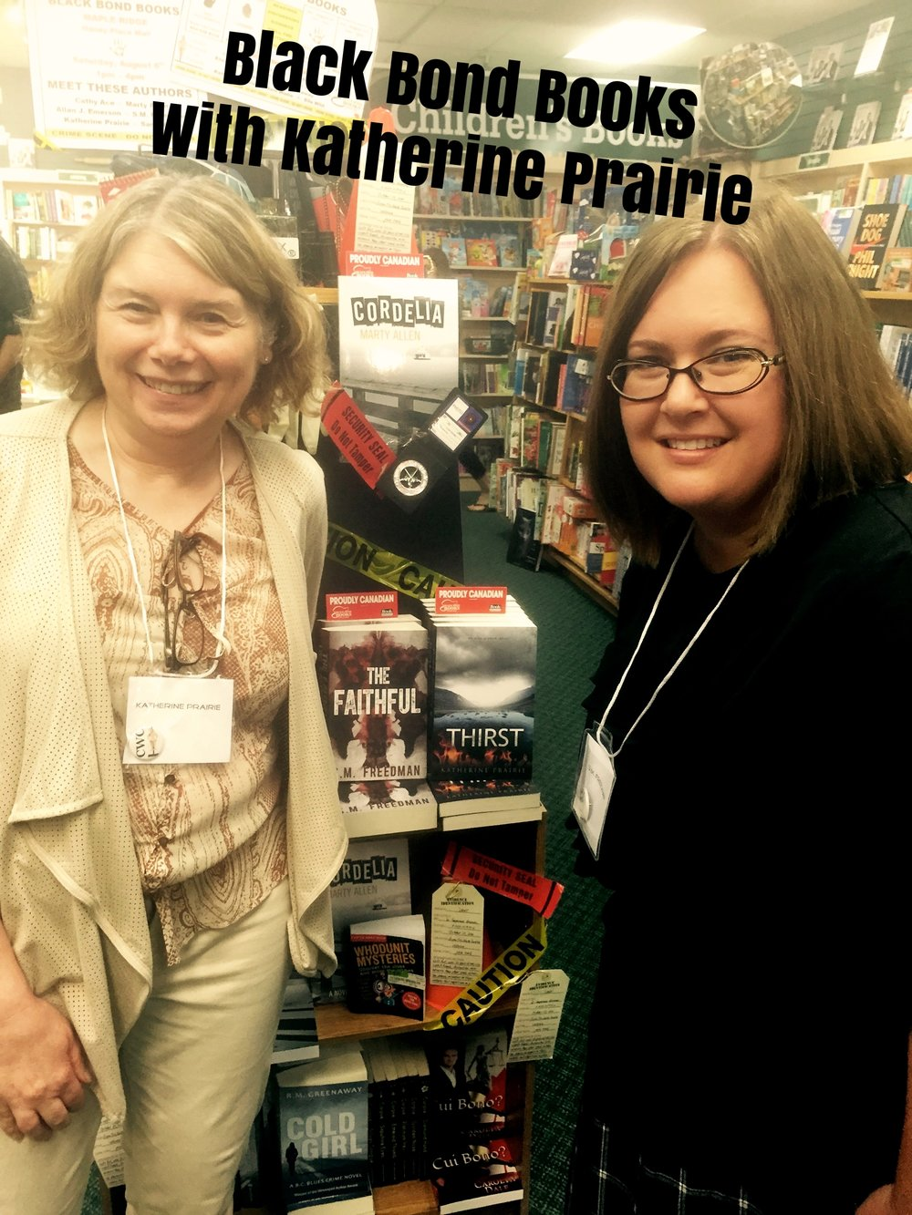 With Katherine Prairie