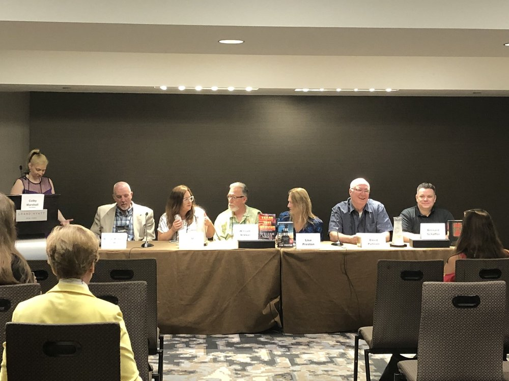 Cops on the beat panel Thrillerfest '18