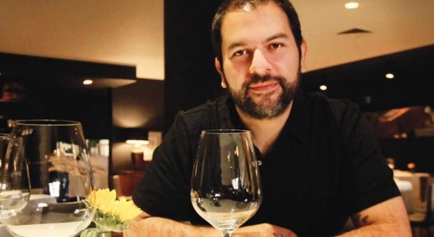 Enrique Olvera in his new restaurant