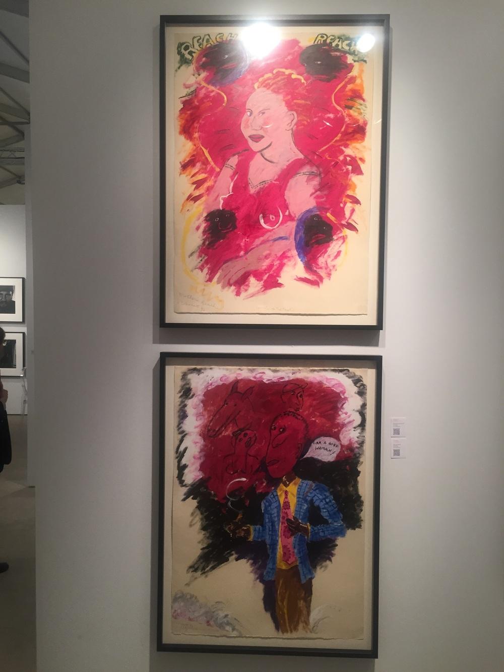 Robert Colescott - Arthur Roger Gallery, Art Miami