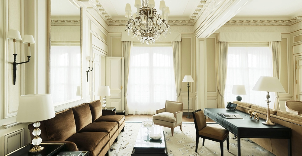The Coco Chanel trés chic living room