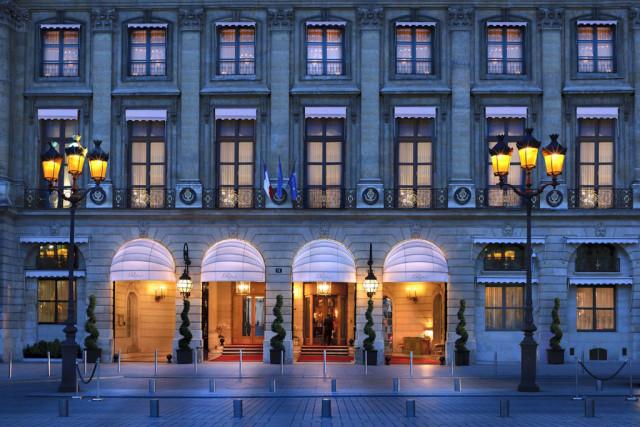 The Ritz Paris façade