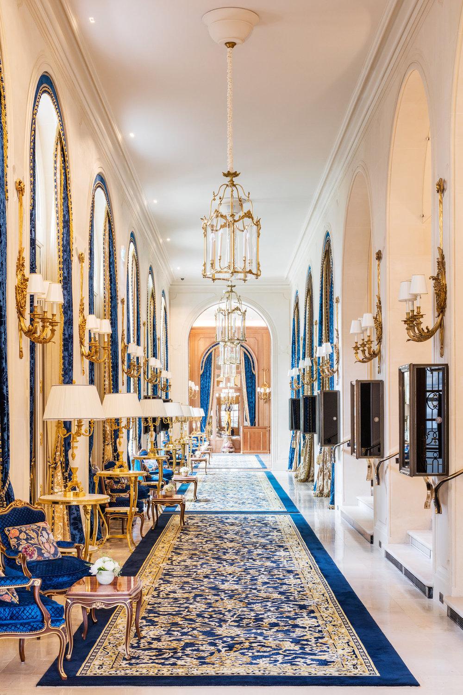 Glamorous Living - Ritz Paris Re-Opens - Doreen Chambers Interior Design NYC