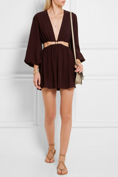 Zimmerman cutout playsuit
