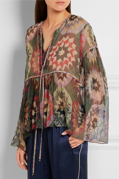 Chloe silk blouse