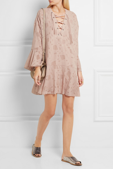Iro tulle mini dress