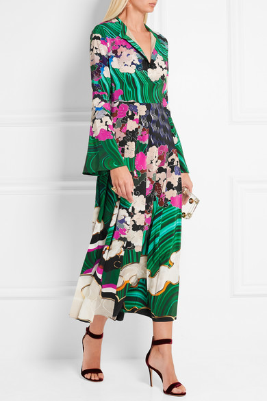Mary Katrantzou silk dress