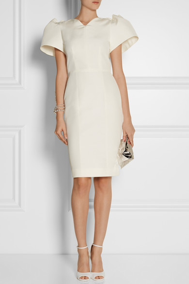 Roksanda silk dupioni dress
