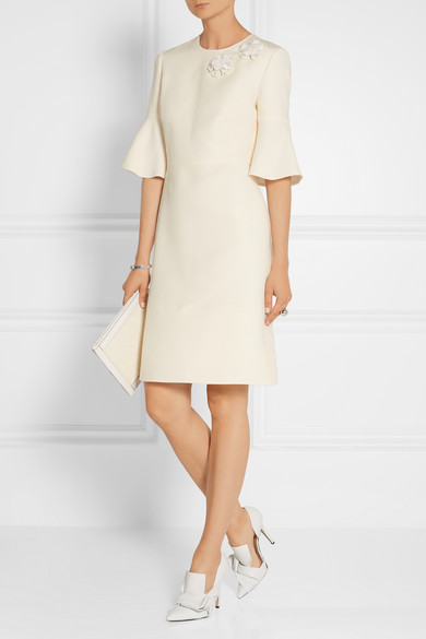 Fendi wool and silk blend dress