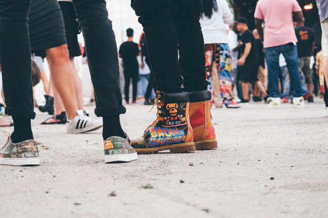 One fashion moment of many - Doc Martens never looked so good
