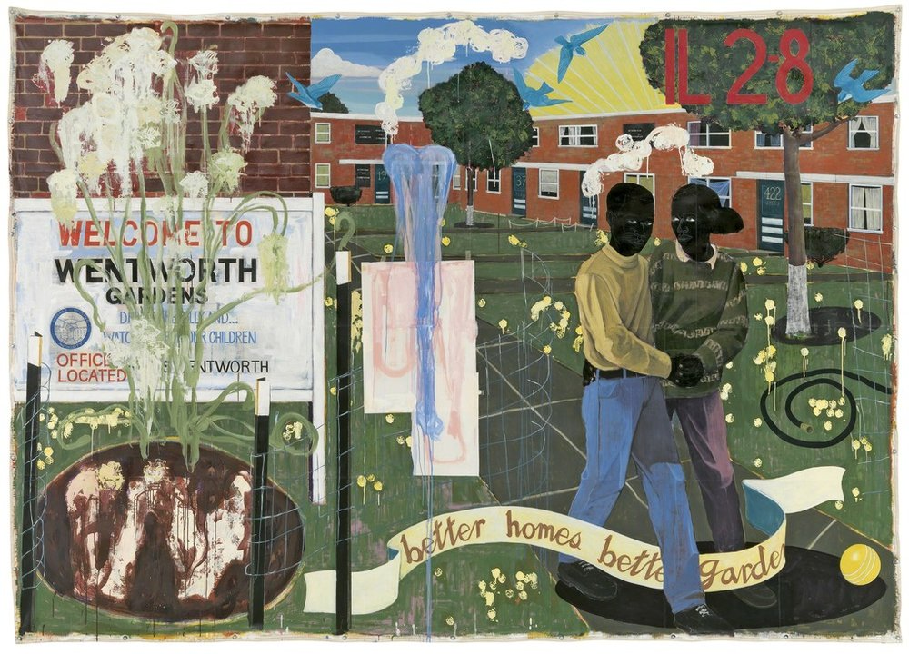 Living With Art - Kerry James Marshall Mastry Retrospective - Doreen Chambers Interiors Brooklyn New York