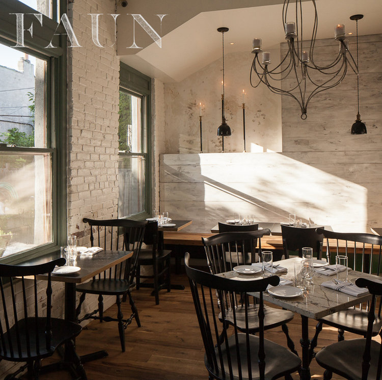 I Like To Call Brooklyn Rustic Consisting Of Bare Wooden Tables Wrought Iron Light Fixtures Exposed Brick Walls And Simple But Comfortable Seating
