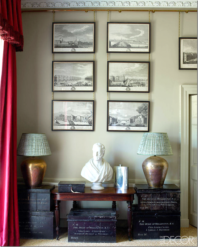 Interior Design - Classic Fabric Lampshades - Doreen Chambers Interior Design Brooklyn New York