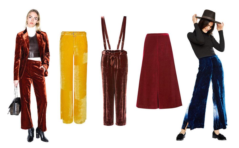 Elegant Dressing - Fall Trends in Velvet! Doreen Chambers Interiors Brooklyn New York