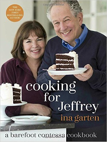 I've read several of Ina Garten's, barefoot contessa cookbooks, though I'm just as happy watching her tv show and wanting to dive into the screen and join her dinner table - married to Jeffrey for 48 years, Ina dedicates this book to  Cooking for Jeffrey