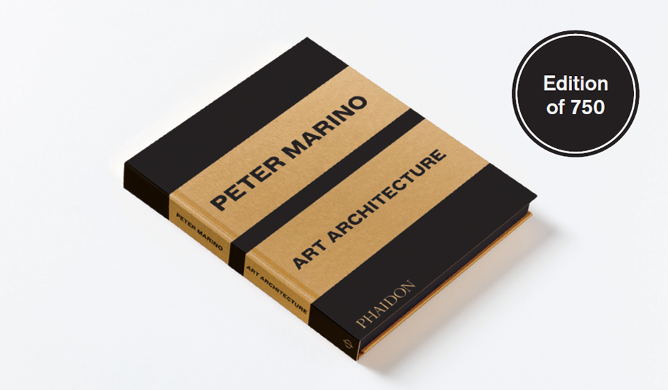 Peter Marino's Art & Architecture-at $350 a pop and only 750 printed this book is for his die-hard fan base