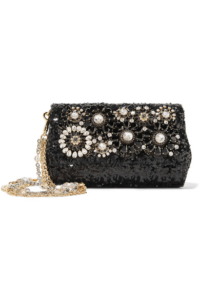 Dolce & Gabbana embellished sequined bag