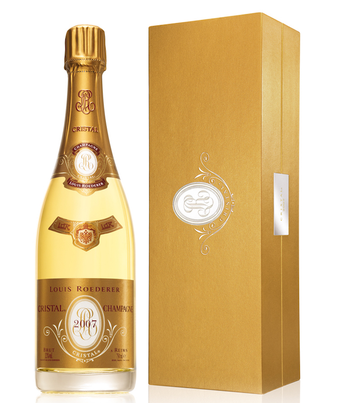 2007 Louis Rogederer Cristal - top quality, energetic, high-end