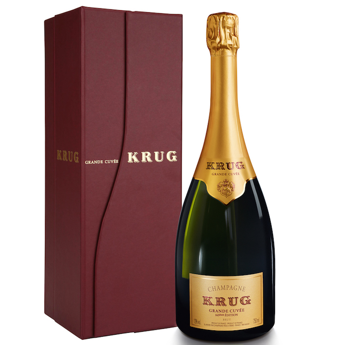 Krug Grand Cuvée - a blend of the house' various vintages
