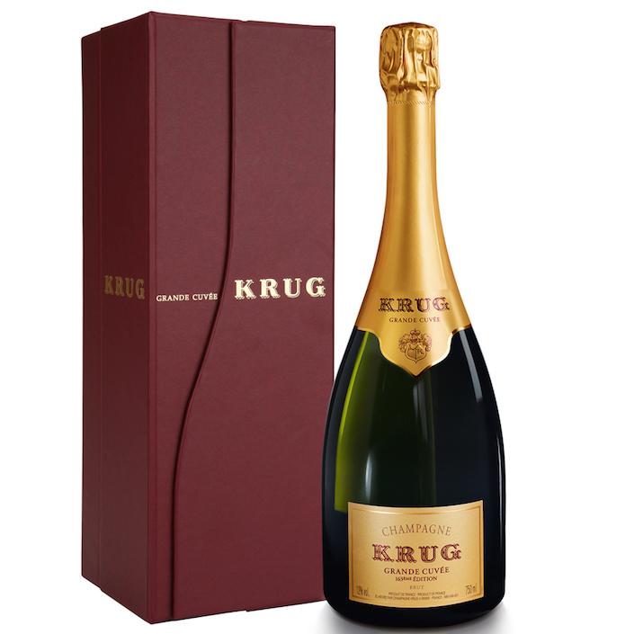 Krug Grand Cuvée - a blend of the house' various vintages