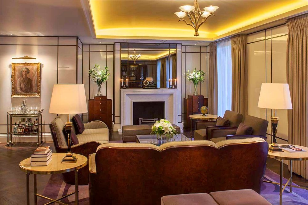 Glamorous Living - the Beaumont Hotel - Doreen Chambers Top Interior Designer Brooklyn New York