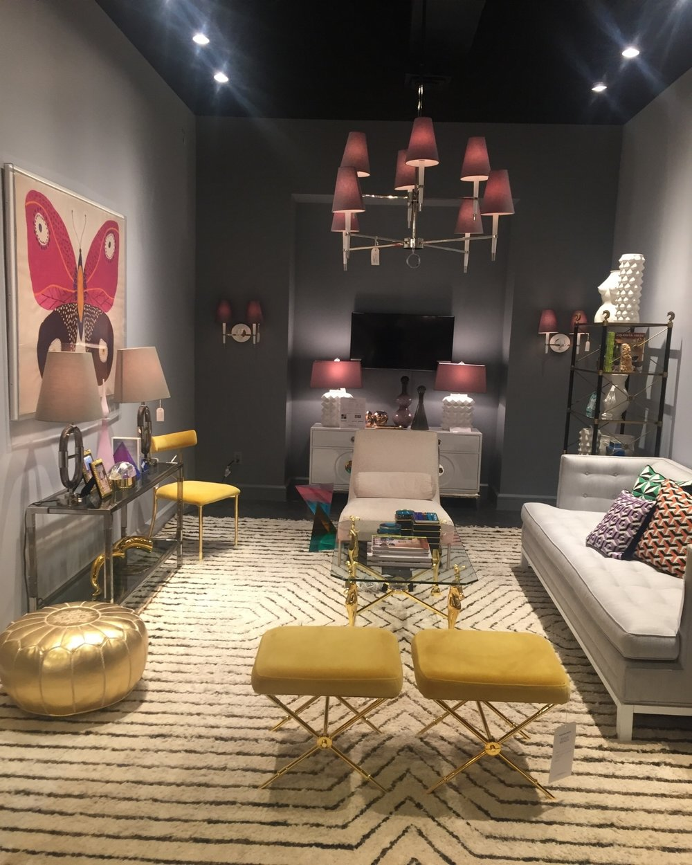 The bold and glamorous world of Jonathan Adler is no place for shrinking violets