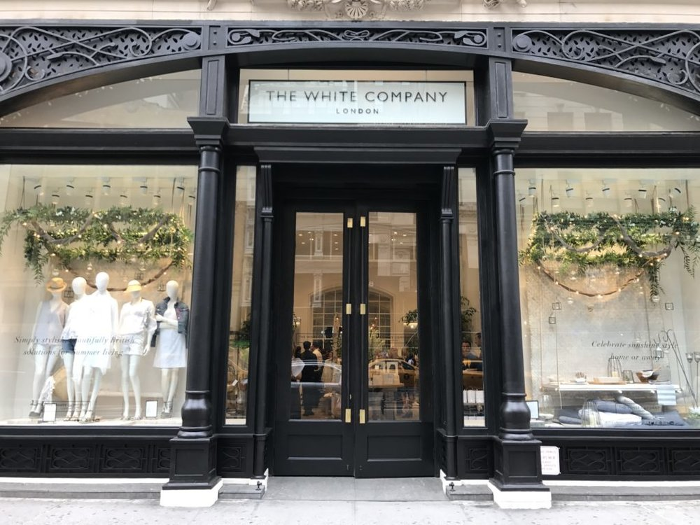 The White Company London, 155 Fifth Avenue, NYC  us.thewhitecompany.com