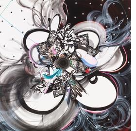 No Key, No Question (2013) by Shinique Smith