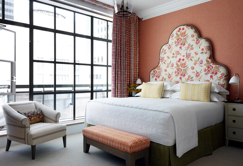 Glamorous Living - The Whitby Hotel - Manhattan New York - Doreen Chambers - Top Interior Designer - Brooklyn - New York - South Florida