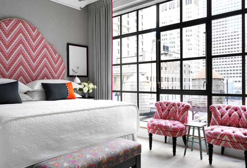Glamorous Living - The Whitby Hotel - Manhattan New York - Doreen Chambers top Interior Designer - Brooklyn - New York - South Florida