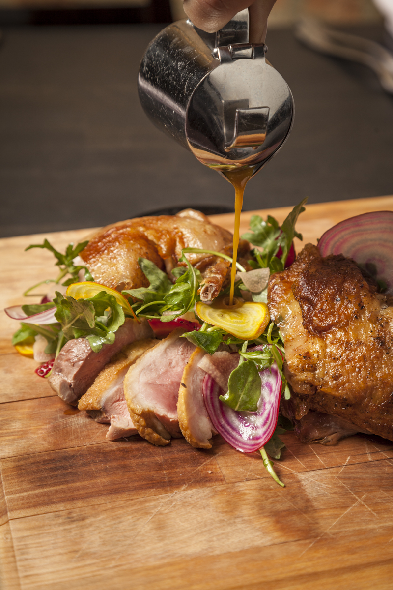 Rotisserie Duck at the Duck Inn...amazing!