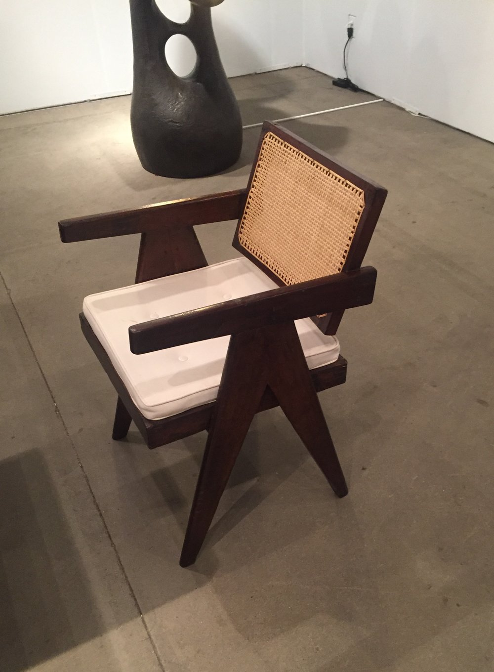 I like a little design with my art - love this dining chair!  Atelier Van Leishout