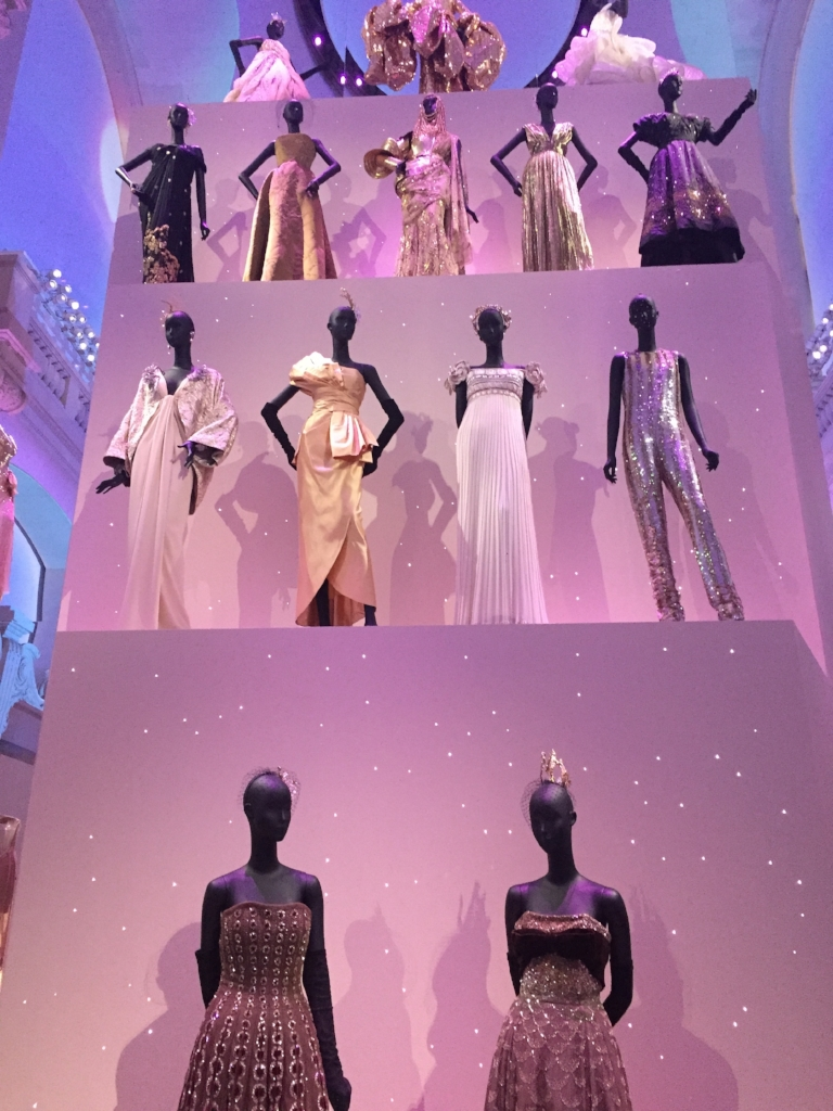 Said to be the largest fashion exhibition ever staged at the museum, showcasing more than 300 haute couture gowns from the seven designers who have led the House of Dior