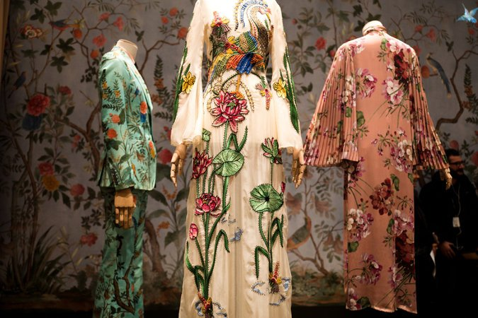 A display at the Gucci Garden in the Palazzo della Mercanzia.  Credit Clara Vannucci for The New York Times