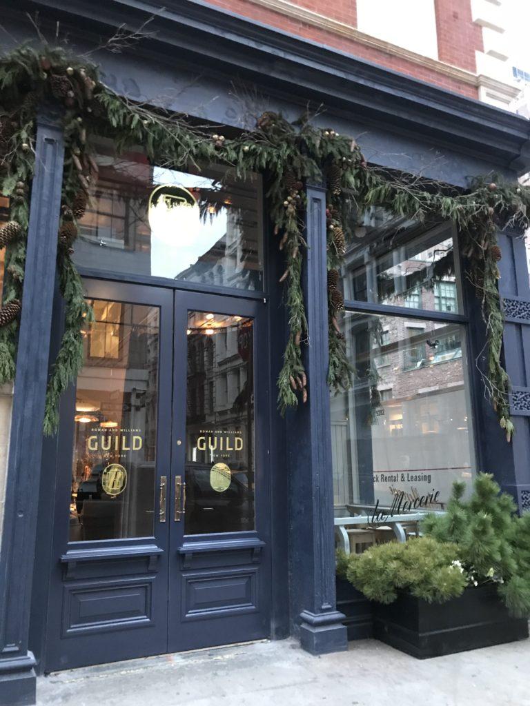 Roman & Williams Guild NY, 32 Howard Street, New York (212) 852-9099