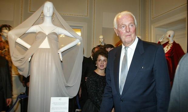 Hubert de Givenchy in 2002. Photograph: Noemi Bruzak/AP