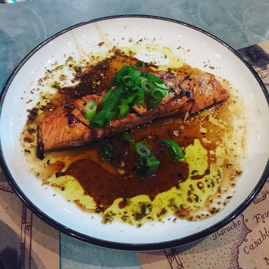 Salmon Pharoah Style