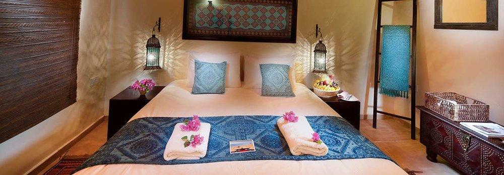 Deserts Nights Camp's oh-so-cozy bedroom