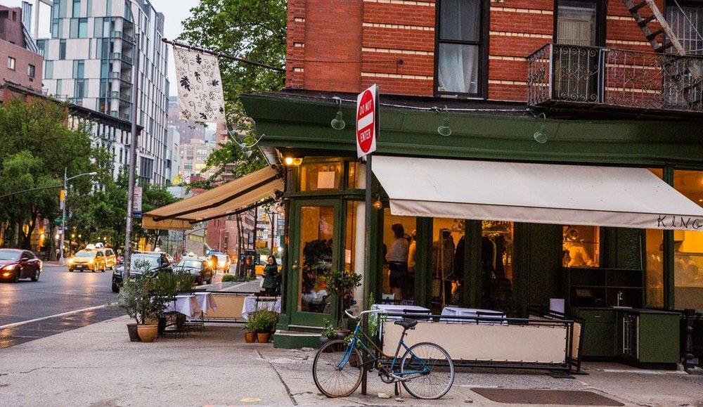 King Restaurant, 18 King Street, New York (P) +1 917 825 1618