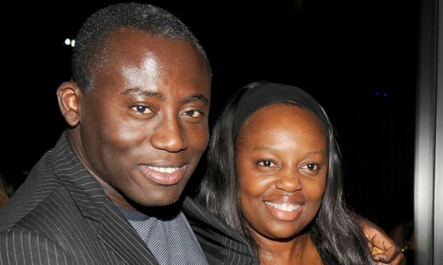 McGrath with Edward Enninful, 2009. Photograph: Patrick McMullan/Patrick McMullan via Getty Images