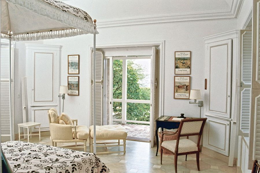 Bunny Mellon's bedroom