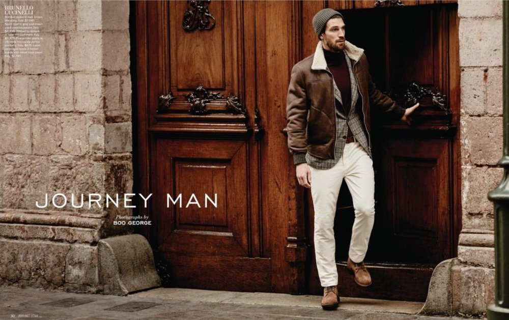 Cover look is head-to-toe  Brunello Cucinelli