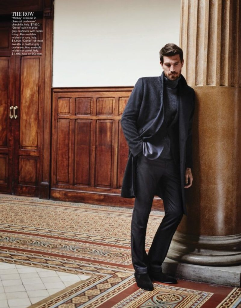 The Row now offers menswear with the same understated elegance their womenswear is known for - available in October