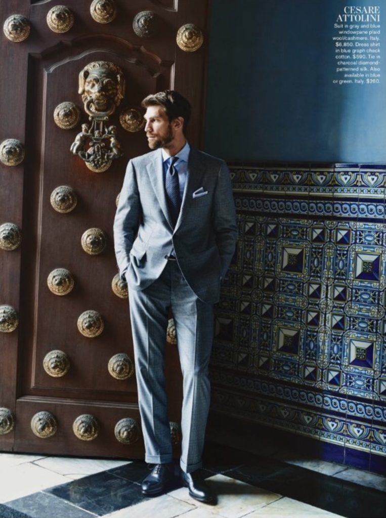 Classic suiting mastered by Brioni