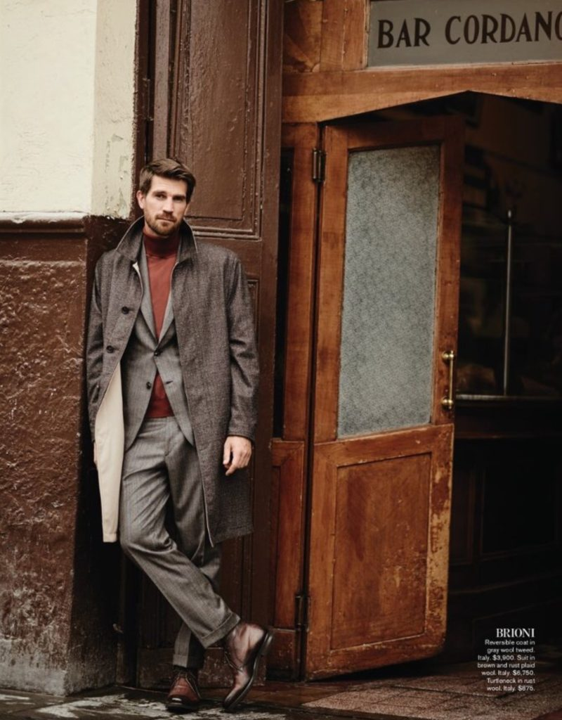 Layered look by  Brioni
