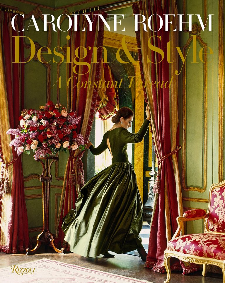 Carolyne Roehm: Design & Style: A Constant Thread  - includes details of her most recent home in Charleston