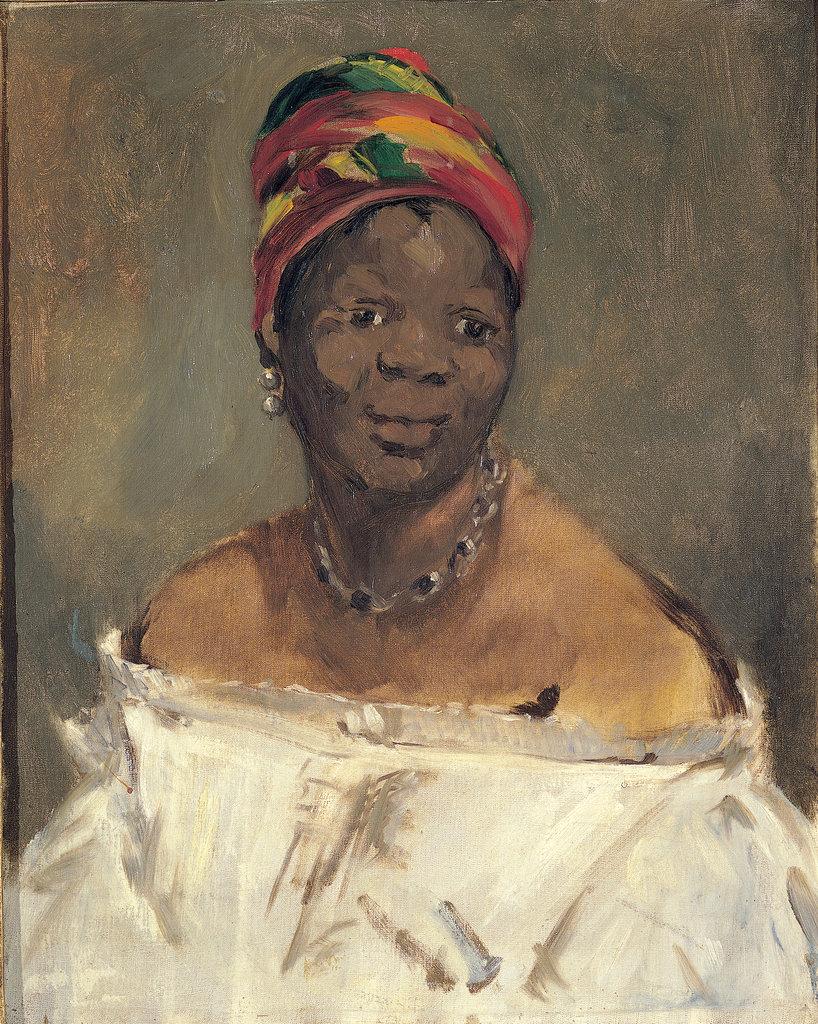 Édouard Manet, La négresse (Portrait of Laure) 1863 - Pinacoteca Giovanni e Marella Agnelli, Turino
