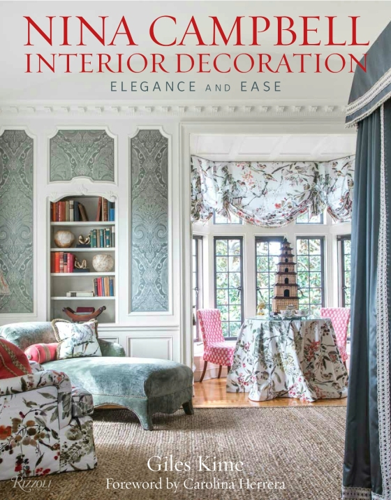 Classic chintz and damask rule in this traditional setting